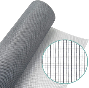 Pvc coated Fiberglass Window Screen Mosquito Netting