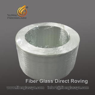 China wholesales E-glass 2400 tex Fiberglass direct Roving