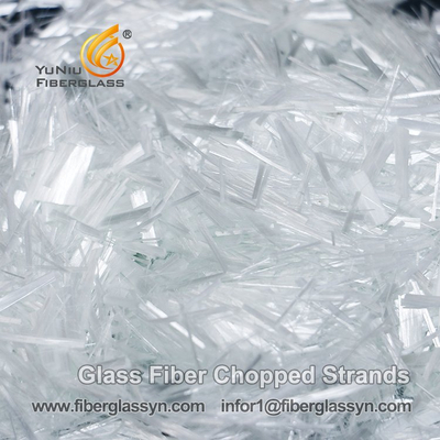 China Top Selling Products E-Glass Fiber Chopped Strands for Concrete