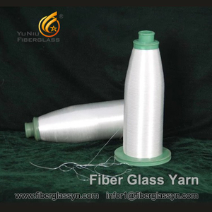 Fiberglass Yarn with C-glass 50 tex (+/- 5 tex) and C-glass 100 tex (+