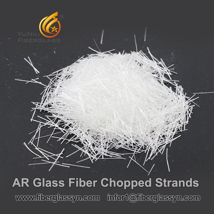12 Mm Alkali Resistant AR Glass Fibre Chopped Strand in Belgium