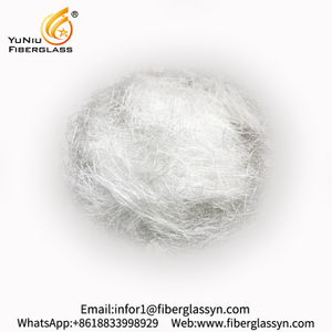 Fiberglass chopped strands for needle mat
