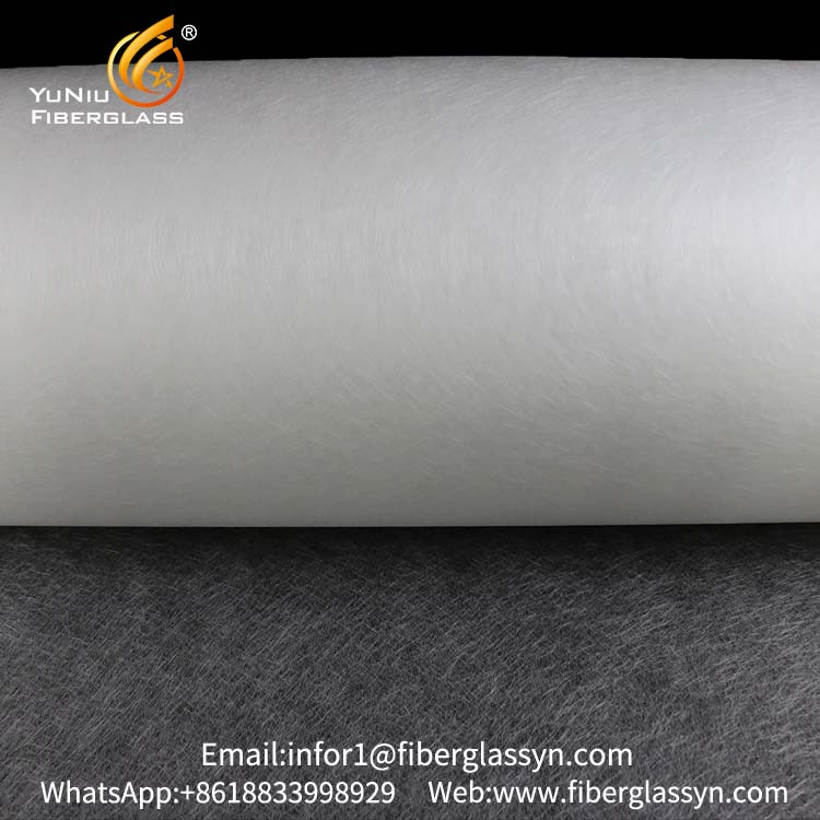Factory direct sale 100g fiberglass surfacing tissue mat