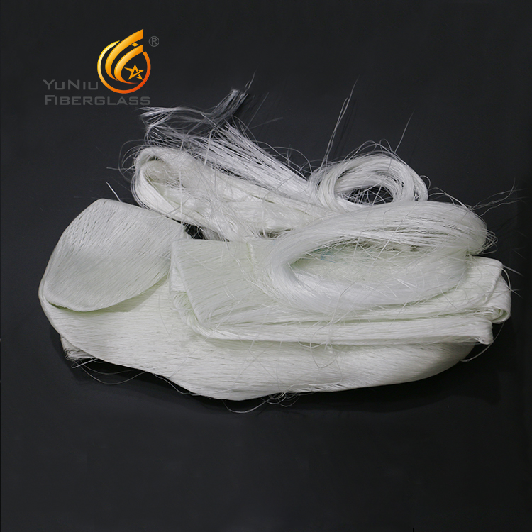 glass fiber scrap or waste roving /yarn or material of gypsm board