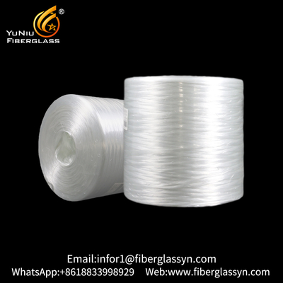 2400 tex 4800 tex fiberglass Assembled Roving for transparent panels and mats FRP panel from China