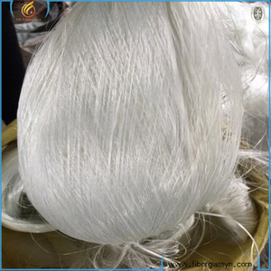 Fiberglass waste roving (yarn)grade can be customized