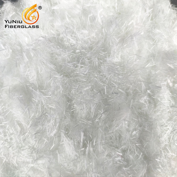 Fiberglass Chopped Strand 4.5mm for Car components, break systems, Sanitary wares