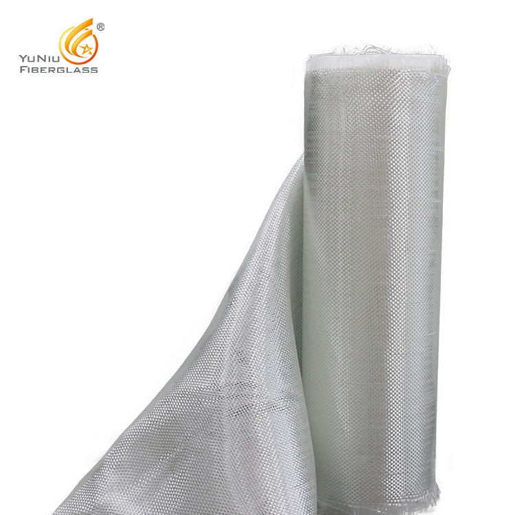 White high quality e glass 600g 800g plain Fiberglass Woven Roving fabric cloth for ship building manufacturers
