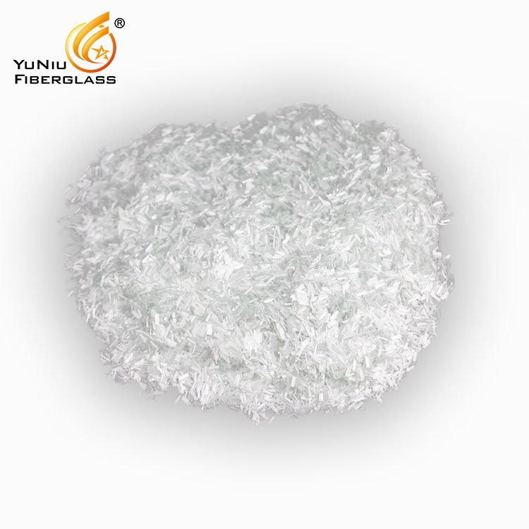 Fiberglass chopped strands for PP3mm/4.5mm