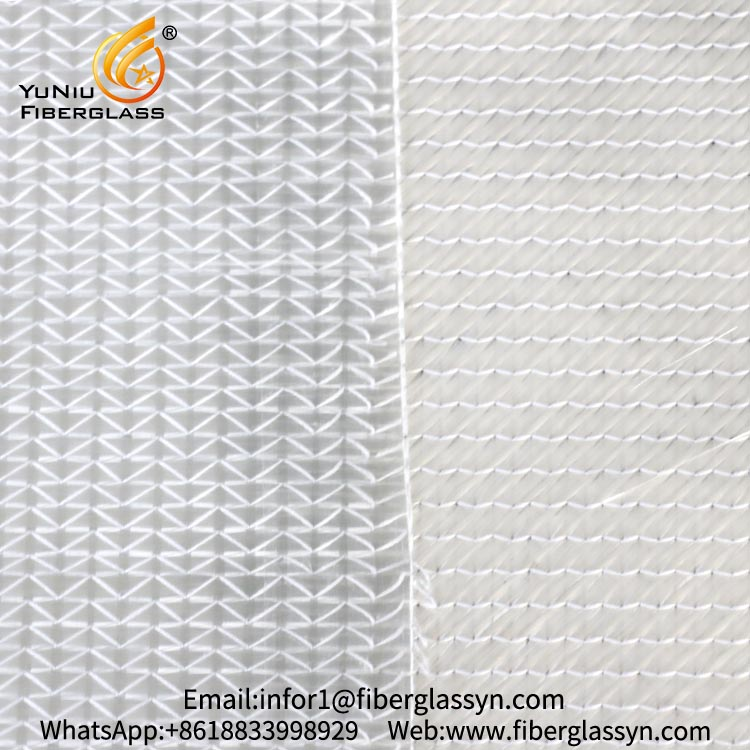 0/90/+45/-45 Fiberglass Multiaxial Warp-Knitted Fabric used in surfboard