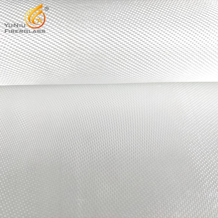 100gsm Plain Woven thermal insulation fireproof fiberglass cloth/fabric in China