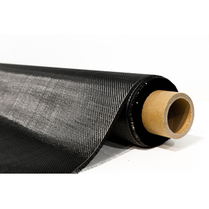 Black Fiberglass Cloth Carbon Fiber Fabric