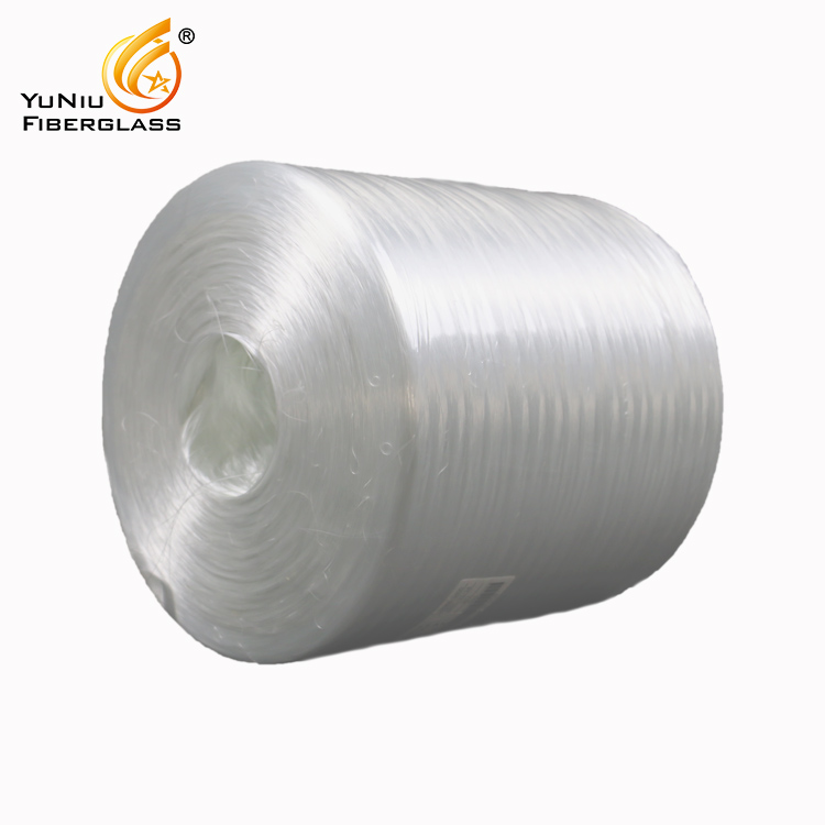 Producing Flexibility Tent Pole C Glass Direct Roving by FRP Panel