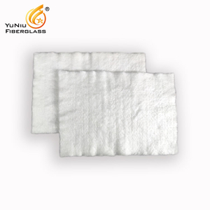 Insulation C-glass fiberglass needle mat
