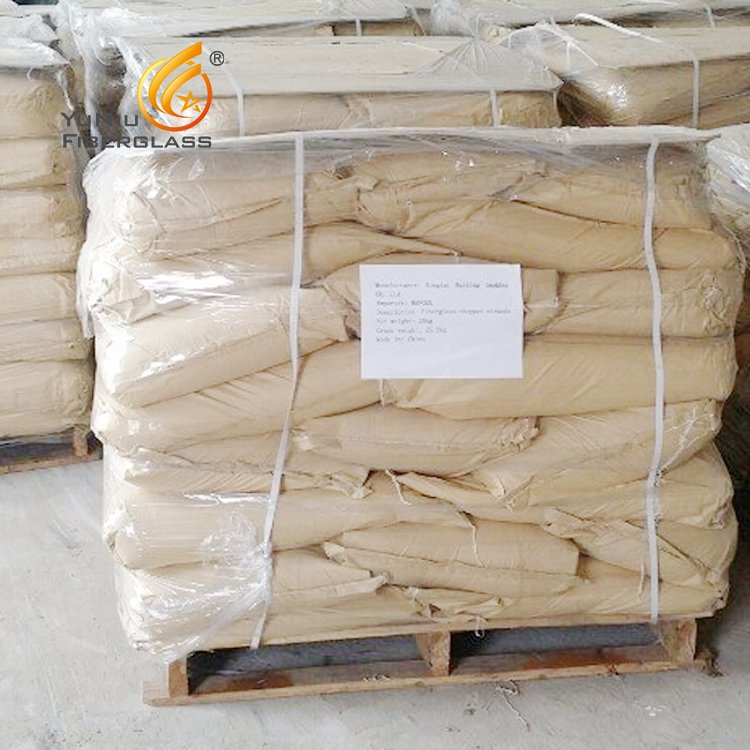 Free Sample Alkali Resistant Glass Fiber Chopped Strand for Construction