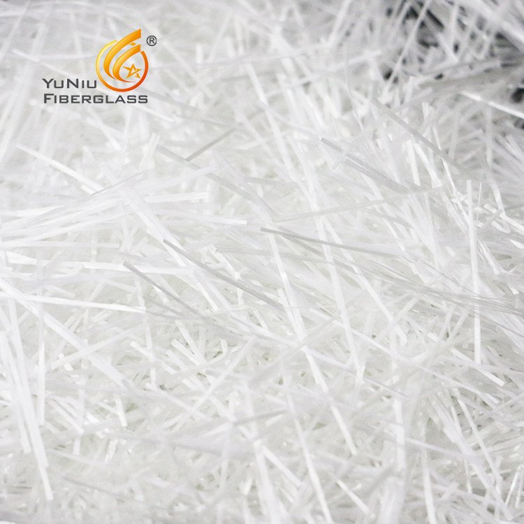 Alkali Resistant E Glass Wet Chopped Fiber Glass Strand inBelgium