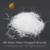 Alkali Resistant Fiberglass Chopped Strands Zro2 16.5% for Grc